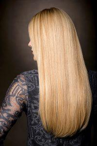 Paryk af ægte hår